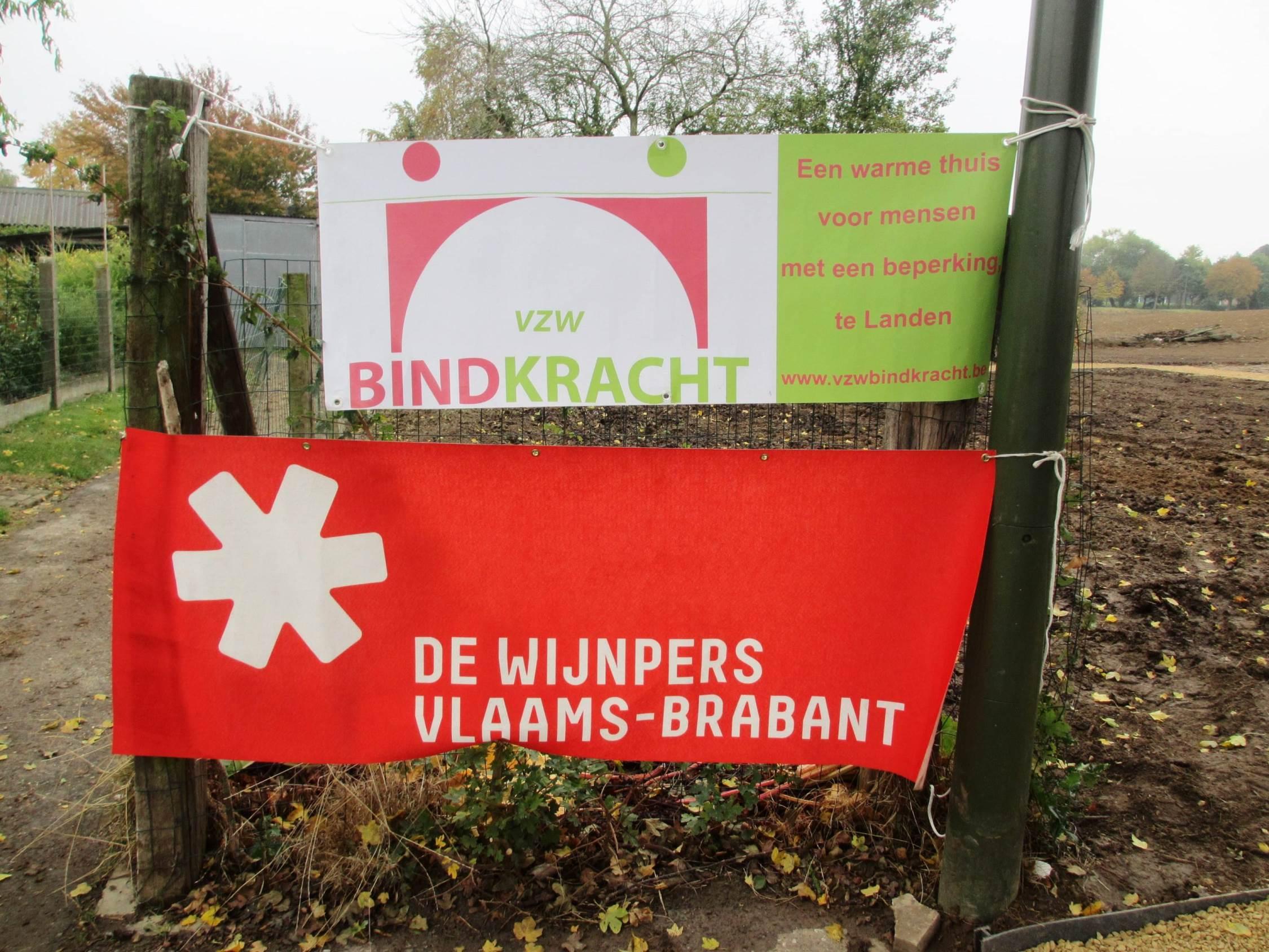 20161021_Leerlingen De Wijnpers helpen t Kleine Paradijs realiseren voor VZW Bindkracht.JPG
